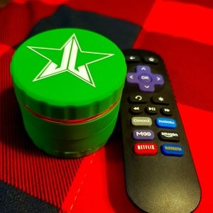 Jeffree Star Cosmetics green soft touch grinder